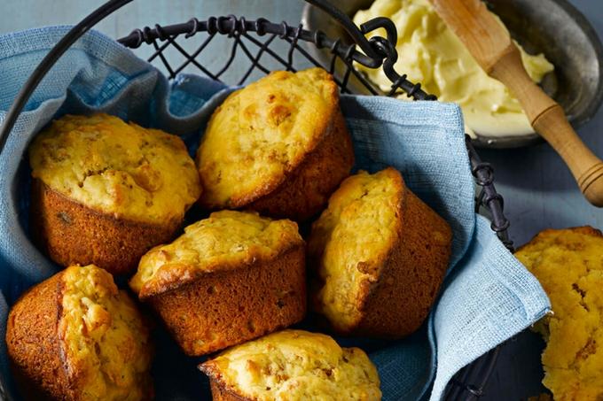 Apricot Bran Muffins