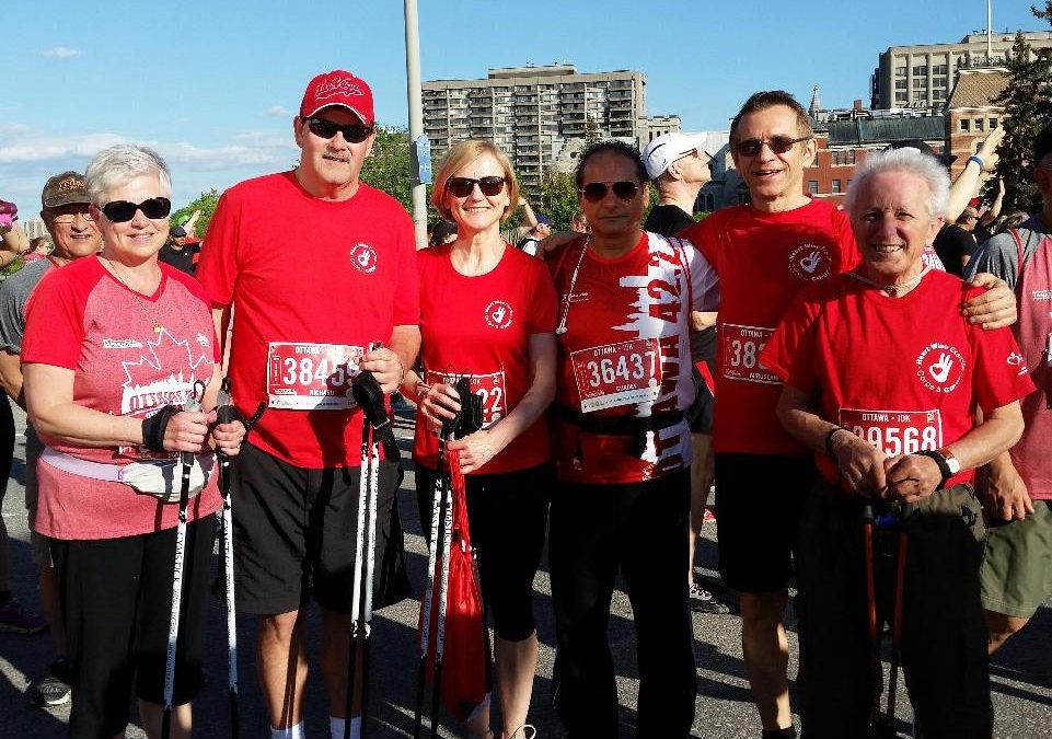 Team Heart at Ottawa Race Weekend!
