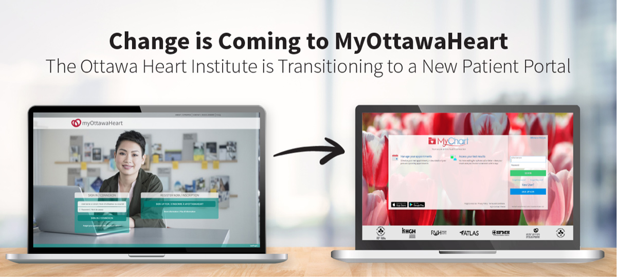 Change is Coming to MyOttawaHeart: The Heart Institute is